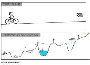 bike ride plans gone bad