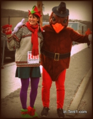 Elf Run meets Turkey Trot?