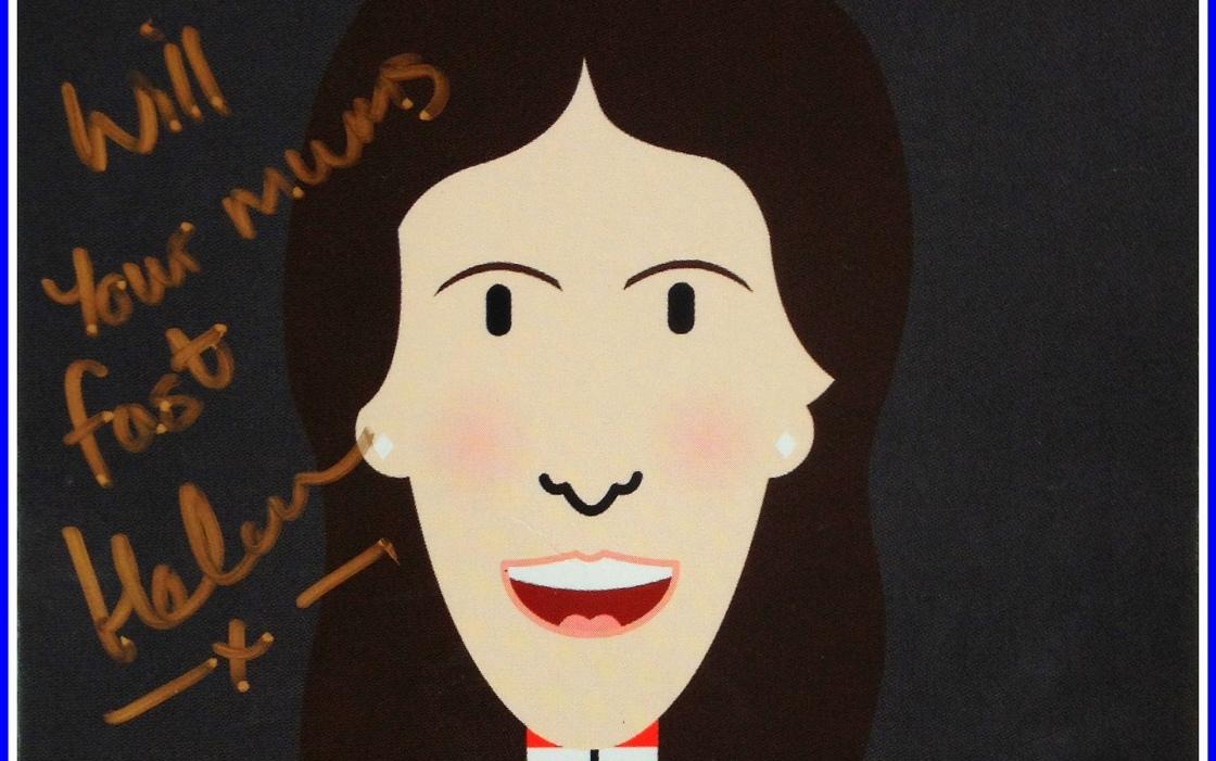 Helen Wyman Autograph